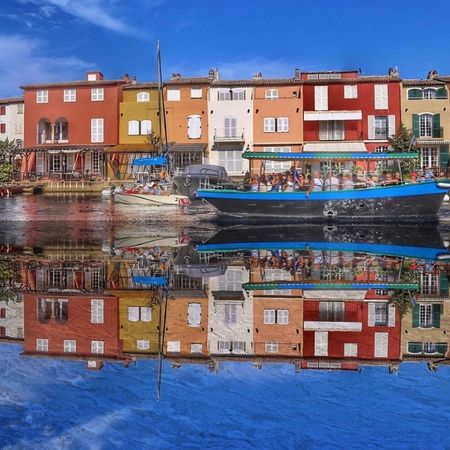 Port Grimaud Reflection